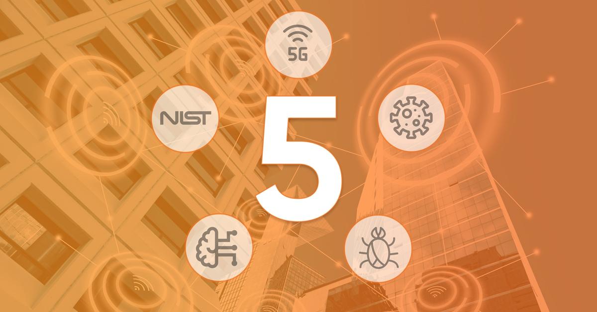 5 IoT cybersecurity trends